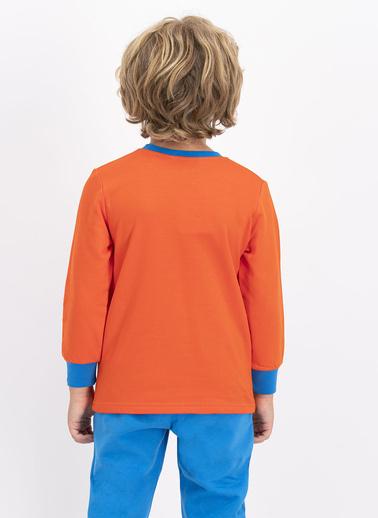 Roly Poly Erkek Çocuk Eşofman Takımı Turuncu Oranj